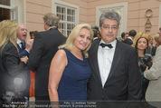 Fundraising Dinner - Albertina - Do 16.04.2015 - Wolfgang HESOUN mit Ehefrau Brigitte40