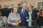 Fundraising Dinner - Albertina - Do 16.04.2015 - Harald und Ingeborg SERAFIN, Inge UNZEITIG5