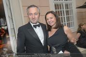 Fundraising Dinner - Albertina - Do 16.04.2015 - Hannes AMETSREITER mit Ehefrau Marie H�l�ne MAGENSCHAB54
