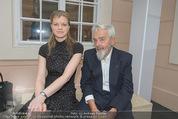 Fundraising Dinner - Albertina - Do 16.04.2015 - Arnulf RAINER mit Tochter Clara56