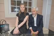 Fundraising Dinner - Albertina - Do 16.04.2015 - Arnulf RAINER mit Tochter Clara57