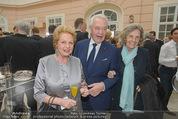 Fundraising Dinner - Albertina - Do 16.04.2015 - Harald und Ingeborg SERAFIN, Inge UNZEITIG6