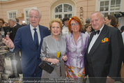 Fundraising Dinner - Albertina - Do 16.04.2015 - Harald und Ingeborg SERAFIN, Rudolf und Inge KLINGOHR8