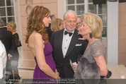 Fundraising Dinner - Albertina - Do 16.04.2015 - Wolfgang und Angelika ROSAM, Elisabeth G�RTLER92