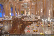Fundraising Dinner - Albertina - Do 16.04.2015 - Dinnertische, Festsaal97