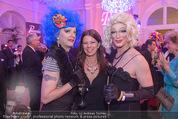 Diversity Ball - Kursalon Wien - Sa 18.04.2015 - Belinda SPARKLING, Sabine KARNER, Fedora O�22