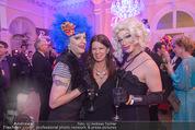 Diversity Ball - Kursalon Wien - Sa 18.04.2015 - Belinda SPARKLING, Sabine KARNER, Fedora O�4