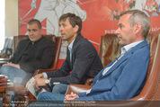 Mario Stecher PK - Stiegl Ambulanz - Di 21.04.2015 - Mario STECHER, Egon THEINER, Ernst VETTORI21