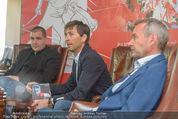 Mario Stecher PK - Stiegl Ambulanz - Di 21.04.2015 - Mario STECHER, Egon THEINER, Ernst VETTORI23