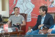 Mario Stecher PK - Stiegl Ambulanz - Di 21.04.2015 - Bernhard GRUBER, Mario STECHER39