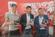 Mario Stecher PK - Stiegl Ambulanz - Di 21.04.2015 - Bernhard GRUBER, Mario STECHER, Ernst VETTORI53