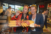 Opening - L´Osteria - Do 23.04.2015 - Uwe KR�GER, Adi WEISS1