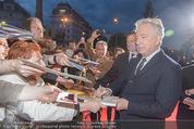 Kinopremiere - Urania - Do 23.04.2015 - Alan RICKMAN schreibt Autogramme24