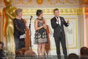 Romy Akademiepreise - Hofburg - Do 23.04.2015 - Evelyne ESELB�CK, Evelyne ESELB�CK, Eva P�LZL, Marcin KOTLOWS37
