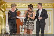 Romy Akademiepreise - Hofburg - Do 23.04.2015 - Evelyne ESELB�CK, Evelyne ESELB�CK, Eva P�LZL, Marcin KOTLOWS38