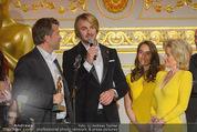 Romy Akademiepreise - Hofburg - Do 23.04.2015 - Puls4-Team auf der B�hne, Markus BREITENECKER, Elisabeth G�RTL50