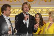 Romy Akademiepreise - Hofburg - Do 23.04.2015 - Puls4-Team auf der B�hne, Markus BREITENECKER, Elisabeth G�RTL52
