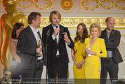 Romy Akademiepreise - Hofburg - Do 23.04.2015 - Puls4-Team auf der B�hne, Markus BREITENECKER, Elisabeth G�RTL54