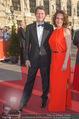 Romy Gala 2015 - Red Carpet - Hofburg - Sa 25.04.2015 - Helmut BRANDST�TTER, Patricia PAWLWICKI1