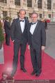 Romy Gala 2015 - Red Carpet - Hofburg - Sa 25.04.2015 - Martin BIEDERMANN, Alexander WRABETZ128