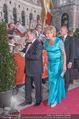 Romy Gala 2015 - Red Carpet - Hofburg - Sa 25.04.2015 - Fritz WEPPER, Angela VON MORGEN137