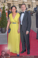 Romy Gala 2015 - Red Carpet - Hofburg - Sa 25.04.2015 - Josef OSTERMAYER mit Ehefrau Manuela93
