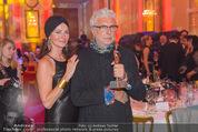 Romy Gala 2015 - Aftershowparty - Hofburg - Sa 25.04.2015 - Andre HELLER mit Romy und Ehefrau17
