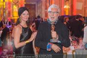 Romy Gala 2015 - Aftershowparty - Hofburg - Sa 25.04.2015 - Andre HELLER mit Romy und Ehefrau18