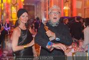 Romy Gala 2015 - Aftershowparty - Hofburg - Sa 25.04.2015 - Andre HELLER mit Romy und Ehefrau19