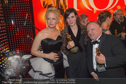 Romy Gala 2015 - Aftershowparty - Hofburg - Sa 25.04.2015 - Barbara SCH�NEBERGER, Nora TSCHIRNER, Axel PRAHL7