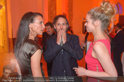 Romy Gala 2015 - Aftershowparty - Hofburg - Sa 25.04.2015 - Maria K�STLINGER, Hilde DALIK, Michael OSTROWSKI80