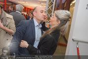 Salon Revive Fotoausstellung - 21er Haus - Di 28.04.2015 - Ali RAHIMI mit Freundin Carina65