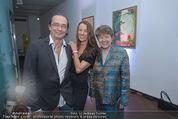 Brigitte Just Ausstellung - Looshaus - Mi 06.05.2015 - Brigitte JUST, Christian KOLONOVITS, Brigitte EDERER1