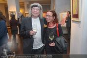 Brigitte Just Ausstellung - Looshaus - Mi 06.05.2015 - Helmut R�HRLING (SCHIFFKOWITS STS) mit Ehefrau19