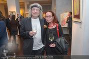 Brigitte Just Ausstellung - Looshaus - Mi 06.05.2015 - Helmut R�HRLING (SCHIFFKOWITS STS) mit Ehefrau20
