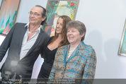 Brigitte Just Ausstellung - Looshaus - Mi 06.05.2015 - Brigitte JUST, Christian KOLONOVITS, Brigitte EDERER3