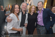 Brigitte Just Ausstellung - Looshaus - Mi 06.05.2015 - Carolyn AIGNER, Peter HOFBAUER, M.-C. GIULIANI, Ossi SCHELLMANN30