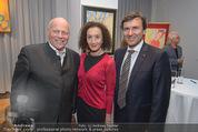 Brigitte Just Ausstellung - Looshaus - Mi 06.05.2015 - Reinhard KARL, Konstanze BREITEBNER, Ralph VALLON40