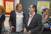 Brigitte Just Ausstellung - Looshaus - Mi 06.05.2015 - Norbert BLECHA, Christian KOLONOVITS48