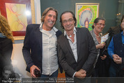 Brigitte Just Ausstellung - Looshaus - Mi 06.05.2015 - Norbert BLECHA, Christian KOLONOVITS49