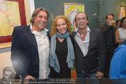 Brigitte Just Ausstellung - Looshaus - Mi 06.05.2015 - Norbert BLECHA, Christian KOLONOVITS, Marie-Christine GIULIANI50