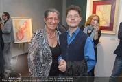 Brigitte Just Ausstellung - Looshaus - Mi 06.05.2015 - Michaela SCHIMANKO mit Sohn Marius52