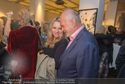 Brigitte Just Ausstellung - Looshaus - Mi 06.05.2015 - Susanne MICHEL, Manfred AINEDTER59