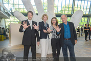 Tosca Pressefrühstück - Art for Art - Do 07.05.2015 - Amra BERGMAN, Maren HOFMEISTER, Michael G�TTLER, Robert DORNHEL1