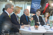Tosca Pressefrühstück - Art for Art - Do 07.05.2015 - Amra BERGMAN, Maren HOFMEISTER, Michael G�TTLER, Robert DORNHEL44
