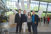 Tosca Pressefrühstück - Art for Art - Do 07.05.2015 - Amra BERGMAN, Maren HOFMEISTER, Michael G�TTLER, Robert DORNHEL5