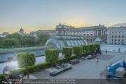 Lee Miller Ausstellung - Albertina - Do 07.05.2015 - Hofburg von hinten, Palmenhaus, Sonnenuntergang55