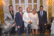 Lifeball Cocktail - Hotel Imperial - Mi 13.05.2015 - Gery KESZLER, Alfons HAIDER, Trevor PETER, Alie ELEVELD1