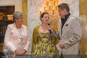 Lifeball Cocktail - Hotel Imperial - Mi 13.05.2015 - Alie ELEVELD, Lena HOSCHEK, Alfons HAIDER13