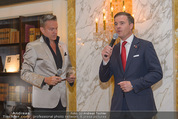 Lifeball Cocktail - Hotel Imperial - Mi 13.05.2015 - Klaus CHRISTANDL, Alfons HAIDER5